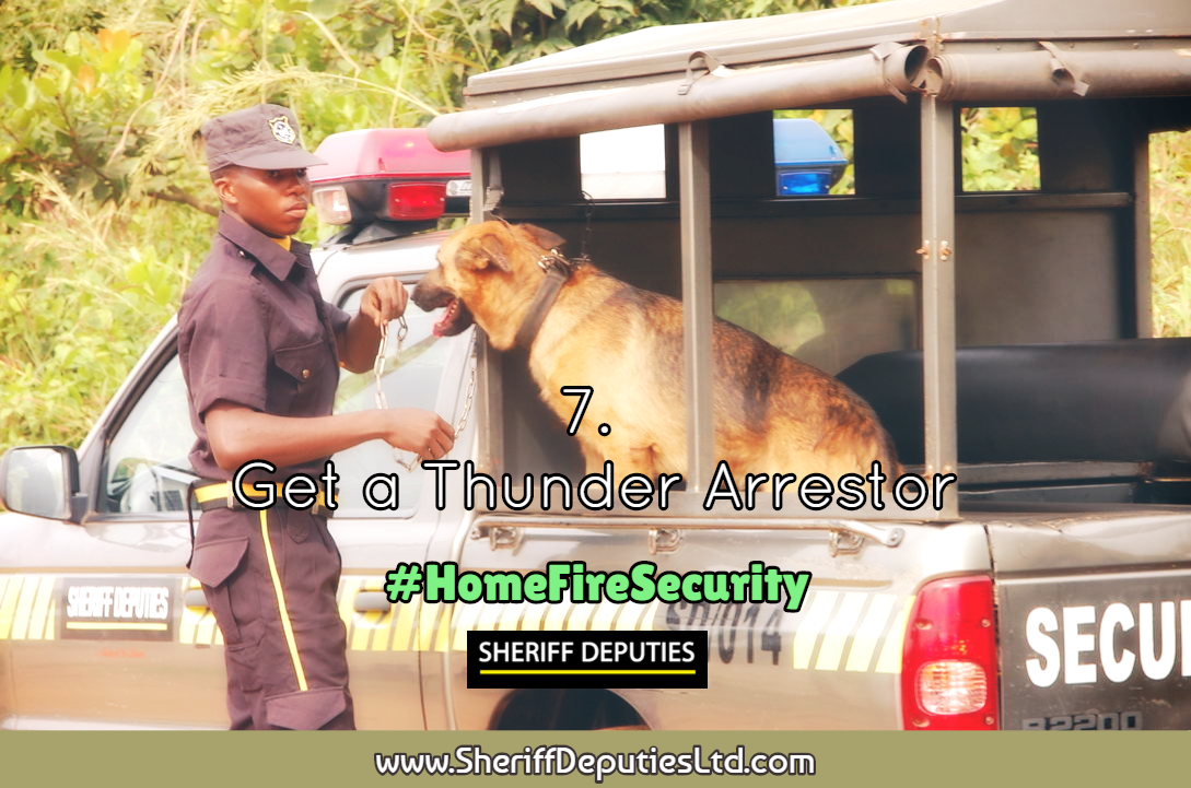 Home fire security 7