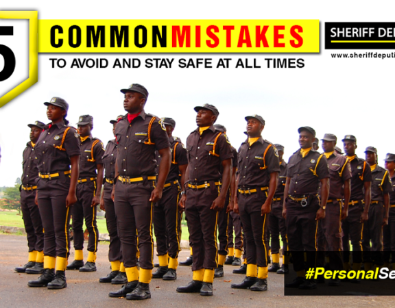 personal security mistakes