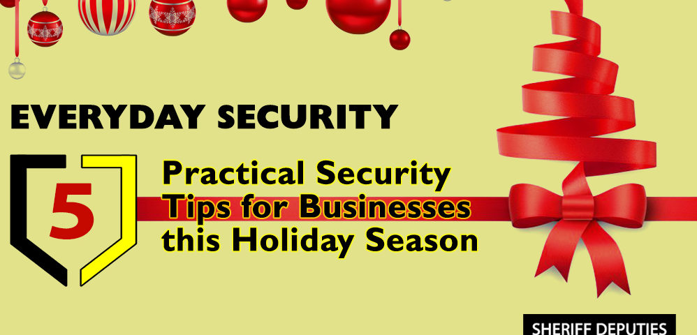 Business security during holiday season