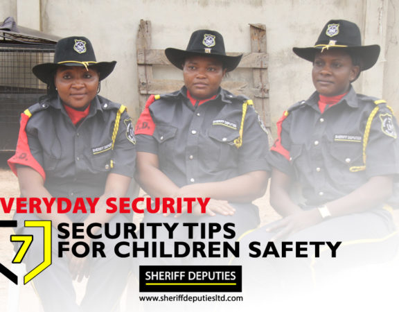 7 Security Tips for Children's Safety