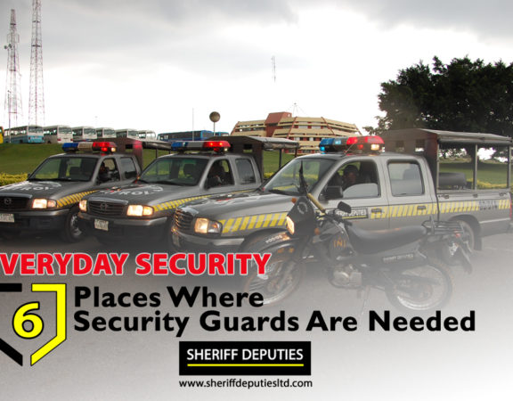 EVERYDAY SECURITY: 6 Critical Places Where Security Guards Are Needed