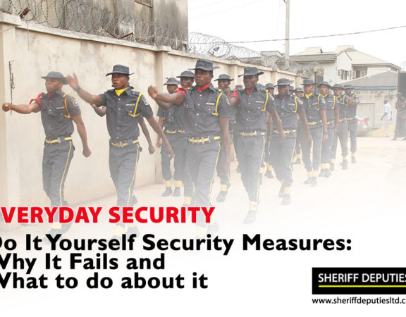 Do It Yourself Security Measures