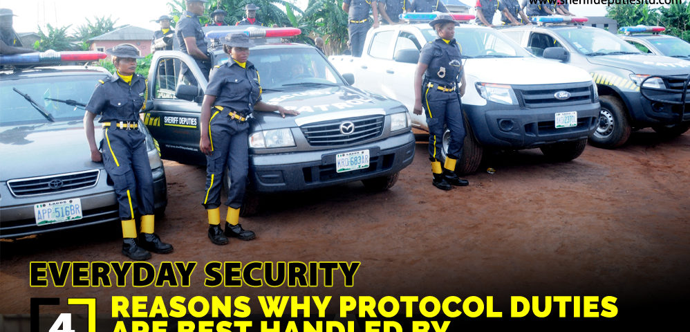 4 Reasons Why Protocol Duties Are Best Handled By Professional Guards