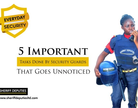 5 Important Tasks Done By Security Guards That Goes Unnoticed