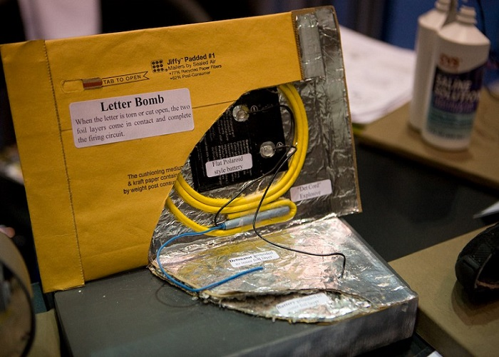 Letter and Parcel Bomb