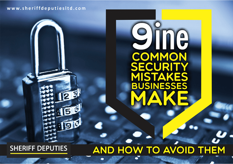 9 common business security mistakes 2
