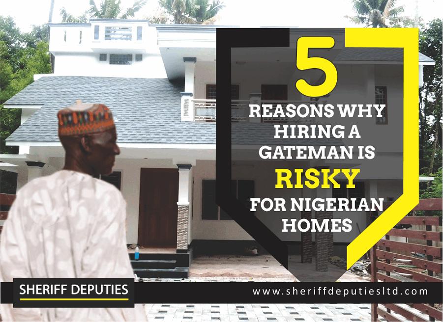Nigerian gateman