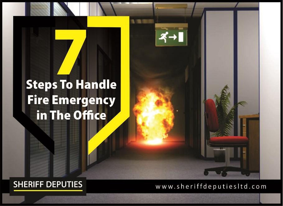 Handle Fire Emergency