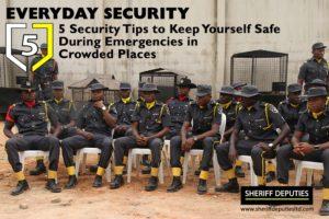 security during emergencies