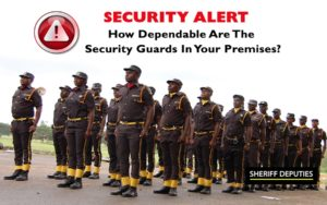 dependable security guards