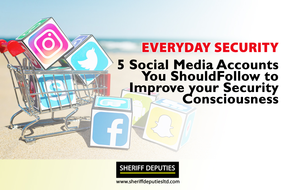 Top 5 Social Media Accounts On Security