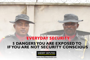 5 Dangers You Are Exposed To If You Are Not Security Conscious