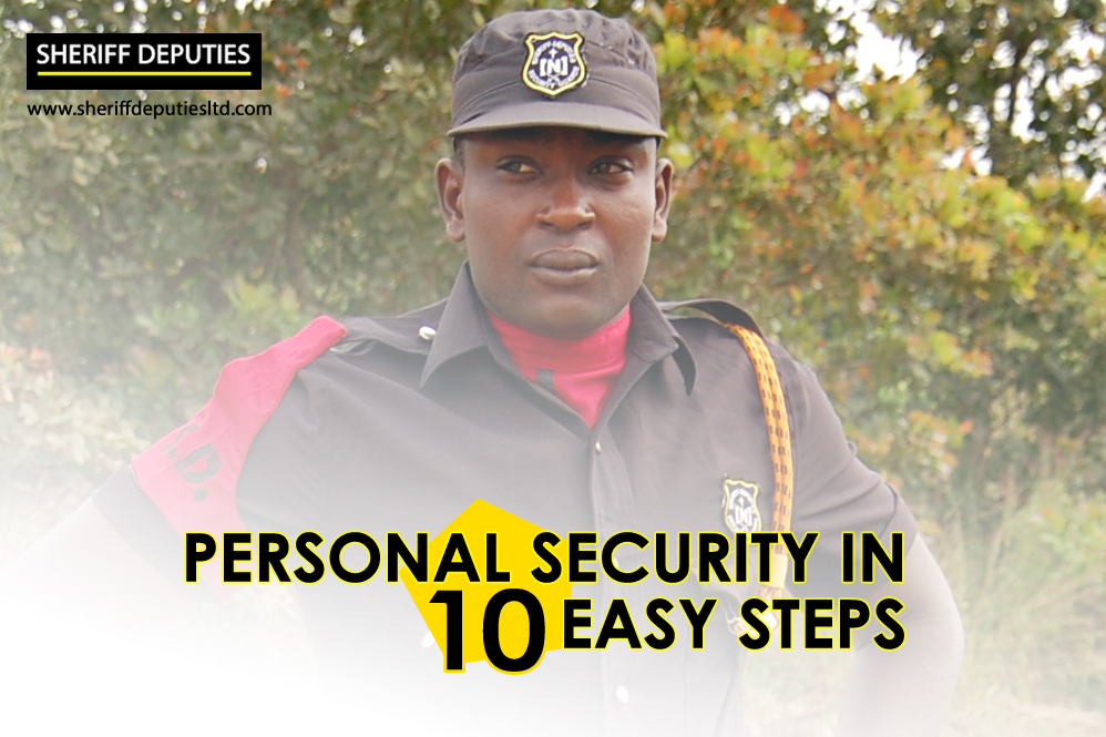 Personal Security In 10 Easy Steps