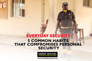 5 Common Habits That Compromise Your Personal Security