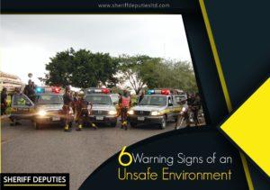 unsafe environment