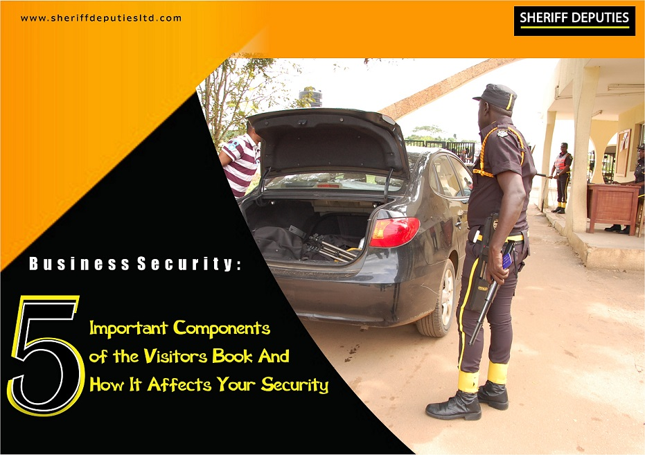 5 Important Components of the Visitors Book And How It Affects Your Security