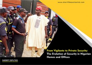 From Vigilante to Private Security