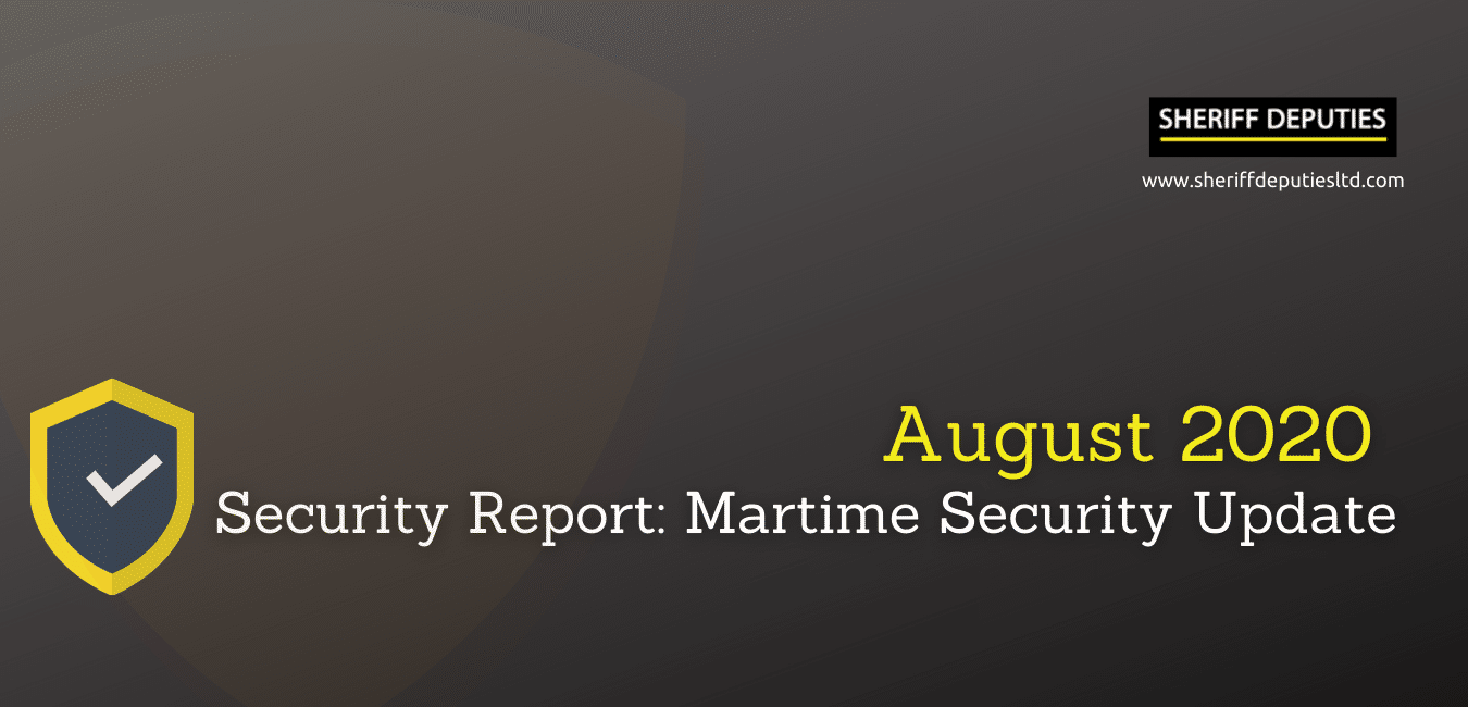 August 2020 security report : Maritime Update